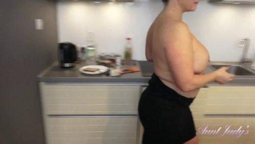auntjudys 20 04 12 devon makes a snack then fucks herself in the kitchen xxx 1080p mp4 ktr