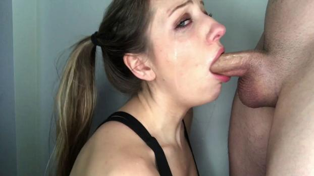 Brutal invasion tyna my first deepthroat blowjob, uploaded by arkadas