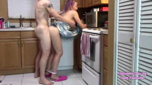 manyvids 2020 brittany lynn taboo doggystyle kitchen milf mommy son