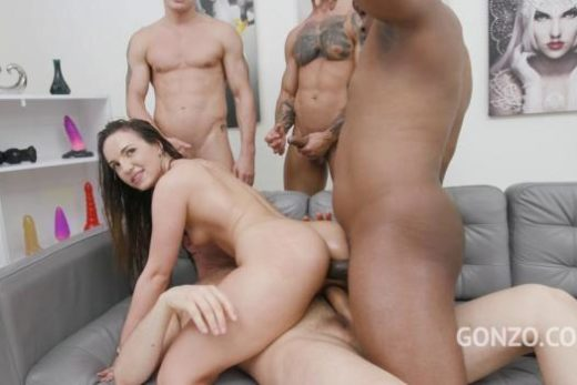 kristy black anal dap 4on1 with piss drinking 720p