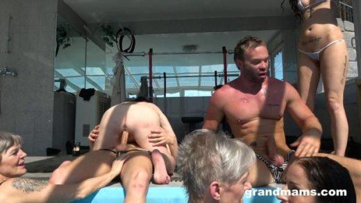 08 04 granny pool orgy