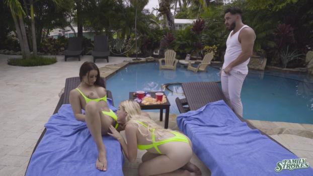 FamilyStrokes – Alessia Luna And Nikki Sweet – Do Us A Favor