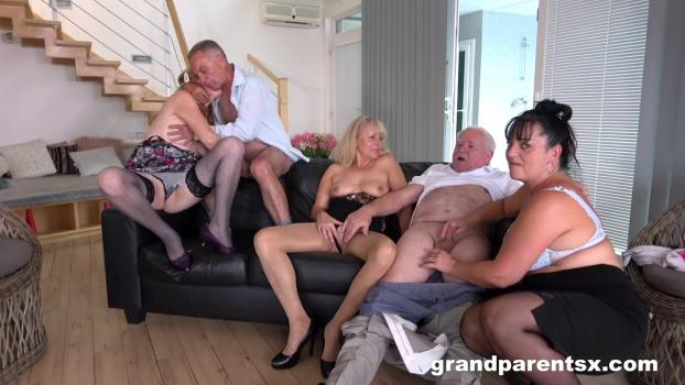 GrandParentsX – Perverted Oldies Orgy – Part 1