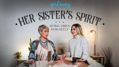 Her sister's spirit