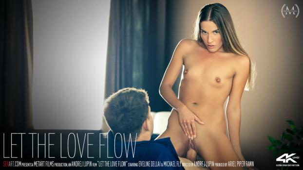 SexArt – Eveline Dellai – Let The Love Flow