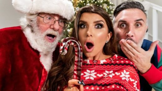BrazzersExxtra – Romi Rain – Claus Gets To Watch