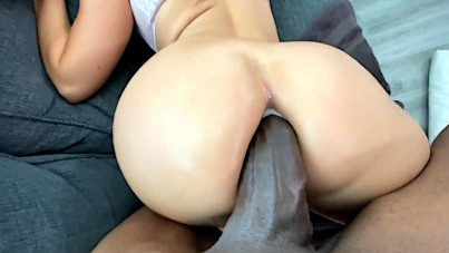 Drilling her ass like never before