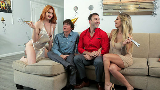 FamilySwap – Lacy Lennon, Madelyn Monroe – Swap Daughters New Years Resolution