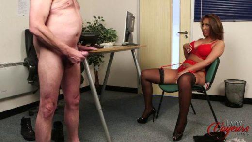 LadyVoyeurs – Chloe Sas – Pussy Makes The Rules