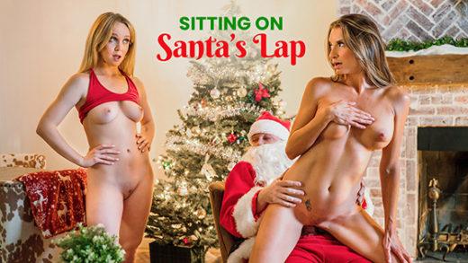 MomsTeachSex – Nikole Nash, Silvia Saige – Sitting On Santa's Lap