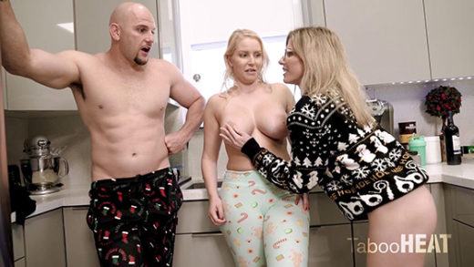 TabooHeat – Cory Chase, Vanessa Cage – Christmas Free Use