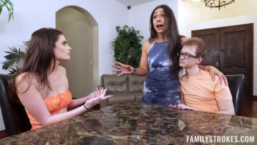 FamilyStrokes – Lilly Hall And Mia Taylor – Help Your Brother