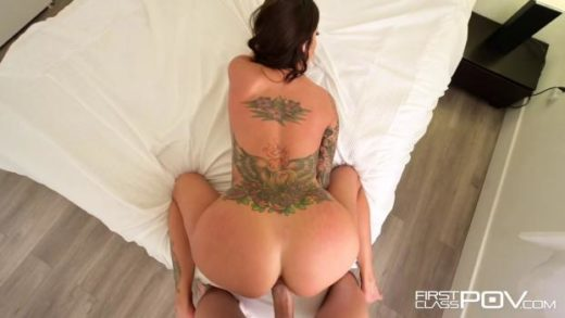 FirstClassPOV – Gia Dimarco – Tattooed Babe Filled With Cum