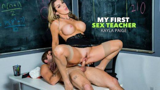 MyFirstSexTeacher – Kayla Paige