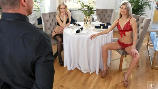 NubileFilms – Gina Gerson And Nesty – Room Service
