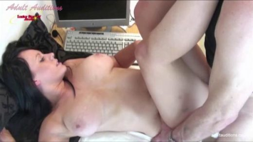 AdultAuditions – Busty Gina – First Hard Audition