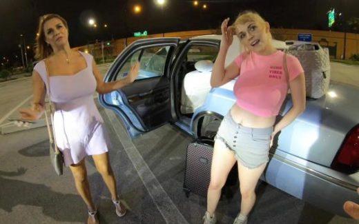 BangRoadSideXXX – Ava Lynn And Juliett Russo – Ava Lynn & Juliett Russo Double Team Our Roadside Xxx Driver!