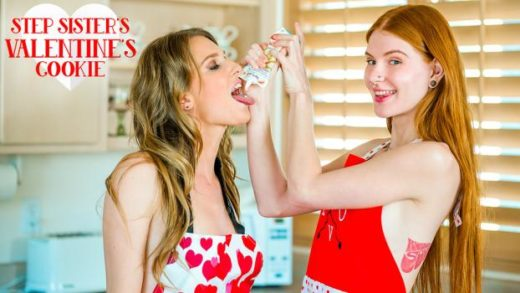 BrattySis – Ashley Lane And Jane Rogers – Step Sisters Valentines Cookie