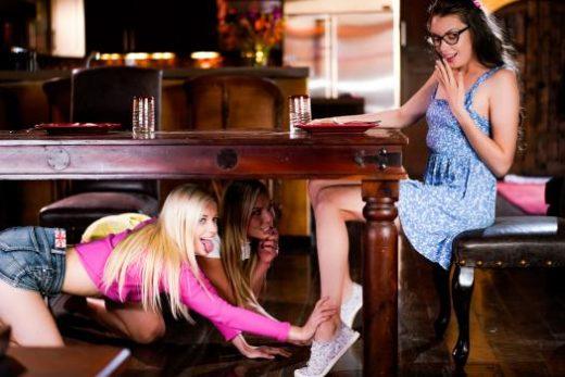 GirlsWay – Aidra Fox, Charlotte Stokely And Elena Koshka – Blind Taste Test