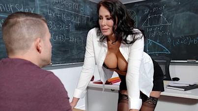 Ms. reagan foxx will teach him a lesson