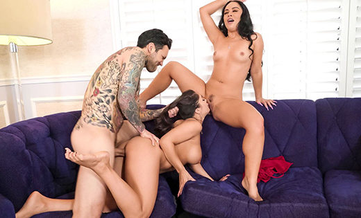 [BrazzersExxtra] Kristina Rose, Tru Kait (Two Wives One Cock / 04.17.2021)