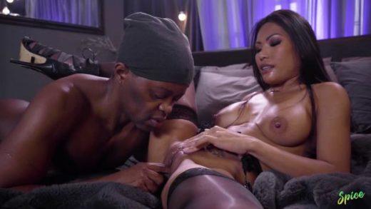 EroticSpice – Polly Pons – Ebony Dick Fills Pretty Asian Pussy