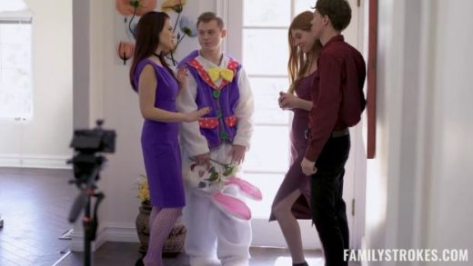 FamilyStrokes – Jane Rogers And Jessica Ryan – Seducing The Easter Bunny