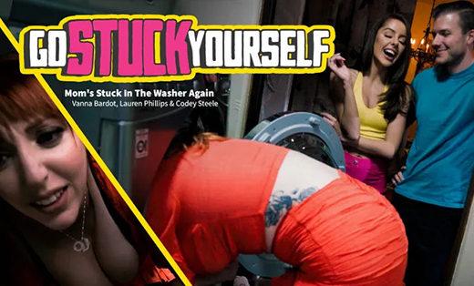 [GoStuckYourself] Lauren Phillips, Vanna Bardot (Mom's Stuck In The Washer Again / 04.21.2021)