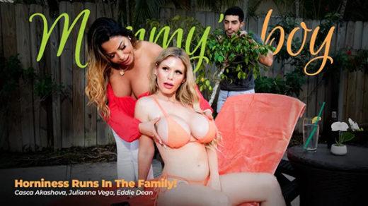 [MommysBoy] Julianna Vega, Casca Akashova (Horniness Runs In The Family / 04.28.2021)