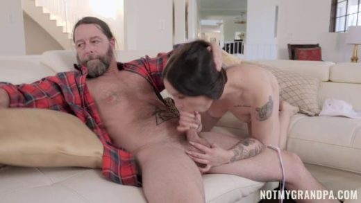 NotMyGrandpa – Mia Moore – Stepgrandpa Teaches Me To Fish