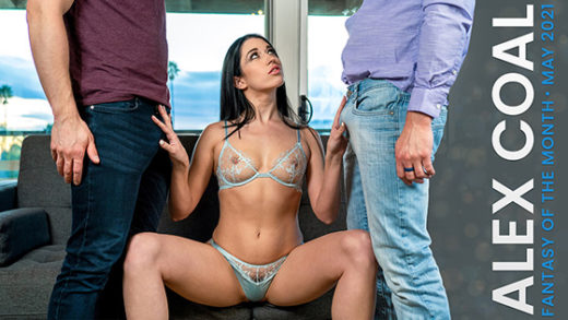 [NubileFilms] Alex Coal (May 2021 Fantasy Of The Month / 05.01.2021)