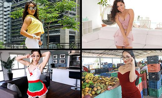 [TeamSkeetSelects] Sarah Lace, Hazel Heart, Destiny Cruz, Thalia Diaz (Spicy Babes / 05.05.2021)