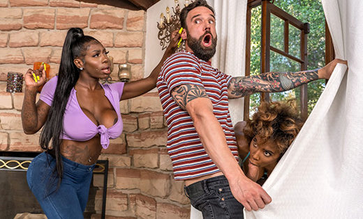 [BrazzersExxtra] Demi Sutra, Ebony Mystique (Jogging His Memory With Her Pussy / 06.04.2021)