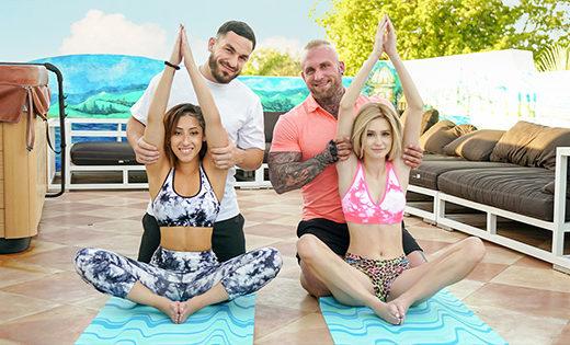 [DaughterSwap] Alicia Williams, Kira Perez (Yoga Stepdaddy Swap / 06.14.2021)