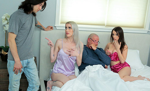 [FamilySwap] Charly Summer, Katie Monroe (Taking Care Of Swap Dad On Fathers Day / 06.12.2021)