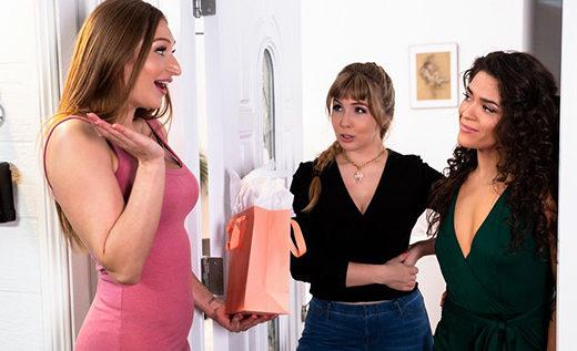 [GirlsWay] Lena Paul, Skylar Snow, Victoria Voxxx (…Surprise! / 06.06.2021)