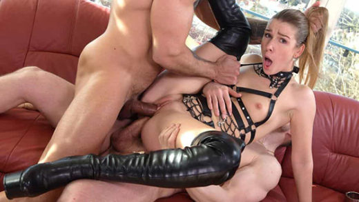 [HandsOnHardcore] Alexis Crystal (BDSM DP Punishment by Two Masters / 06.07.2021)