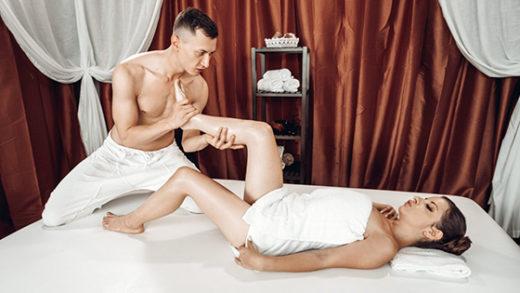 [MassageRooms] Mary Jane (Big cock footjob on massage table / 06.15.2021)