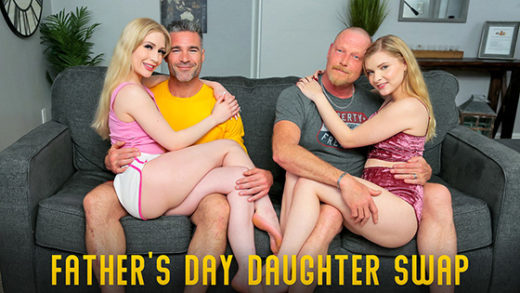 [MyFamilyPies] Emma Starletto, Harlow West (Fathers Day Daughter Swap / 06.15.2021)