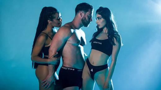 [AdultTime] Kira Noir, Emily Willis (Seth, Emily and Kira's Hot Threesome / 07.04.2021)