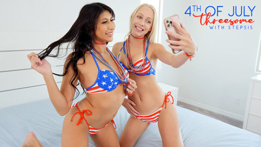 [BrattySis] Braylin Bailey, Penelope Woods (Fourth Of July Threesome With Stepsis / 07.02.2021)
