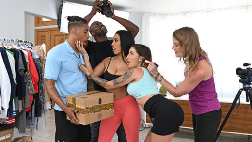 [RKPrime] Amirah Styles, Anna Chambers (Delivering On A Porno Set / 07.21.2021)