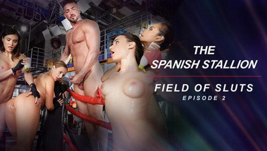 [RoccoSiffredi] Kitana Lure, Kaisa Nord, Lana Roy, Veronica Leal (The Spanish Stallion: Field of Sluts / 07.03.2021)