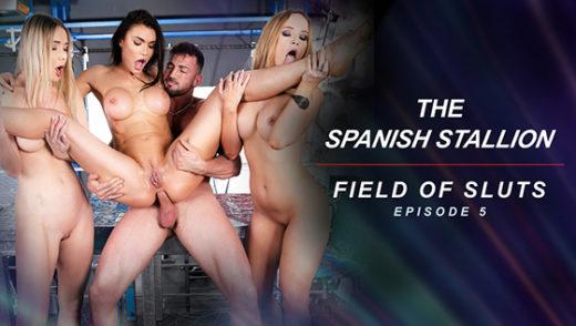 [RoccoSiffredi] Kitana Lure, Kaisa Nord, Venera Maxima (The Spanish Stallion: Field of Sluts / 07.29.2021)