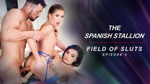[RoccoSiffredi] Kitana Lure, Silvia Dellai, Eveline Dellai (The Spanish Stallion: Field of Sluts / 07.15.2021)