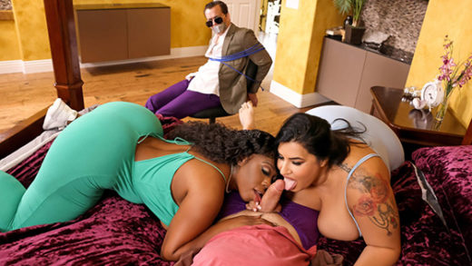 [BrazzersExxtra] Sofia Rose, Ms London (Cucking The Double Date Douchebag Part 2 / 08.18.2021)