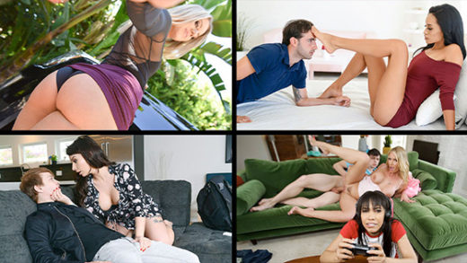 [MylfSelects] Candice Dare, Nina Elle, Rachael Cavalli, Ivy Lebelle (Cheating Mylfs / 08.03.2021)