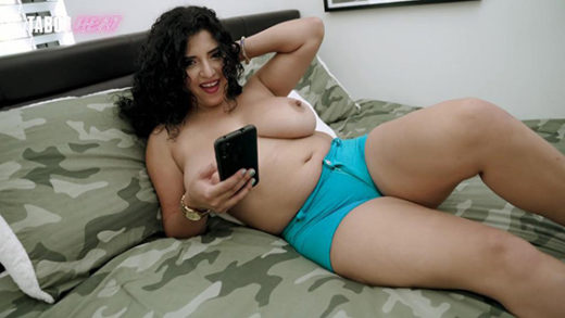[TabooHeat] Gabriela Lopez (Fucking Step Dad On Step Brothers Bed / 08.25.2021)
