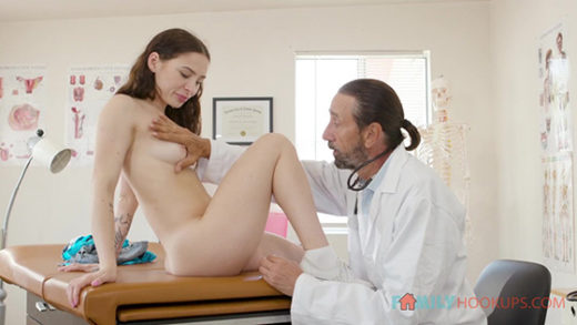 """[FamilyHookups] Mia Moore (Hot young Mia Moore goes to see her doctor uncle and gets the """"full inspection"""" / 09.03.2021)"""