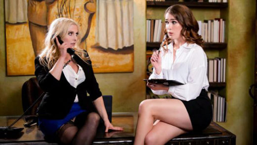 [GirlsWay] Christie Stevens, Evelyn Claire (Quit Slacking Off / 09.12.2021)